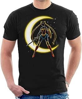 Sailor Moon Wonder Woman Mix Men's T-Shirt