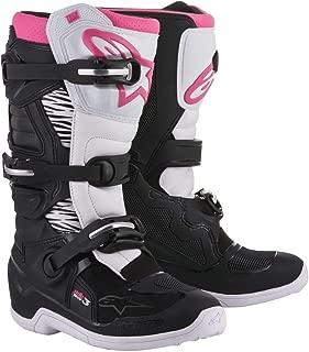Alpinestars Womens Stella Tech 3 Boots-Black/White/Pink-7