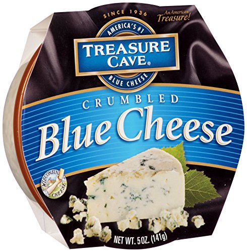 Treasure Cave, Crumbled Blue Cheese, 5 oz