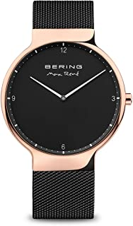BERING Mens Analogue Quartz Watch with Stainless Steel Strap 15540-262