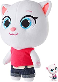 Talking Angela Toys Plush Dolls Toy for Kids Toys Talk to You Repeat What You Say Cat Toy Cat Tom Talking Plush Doll Babys for Girls Cat Toys Electronic Cat Doll (Talking Angela, 11.8