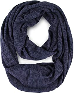 TNNZEET Infinity Scarf Travel Circle Loop Scarf Stylish Unisex–Fashion Lightweight Soft Stretchy