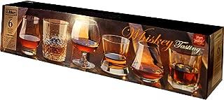 Libbey Whiskey Tasting Glasses, Assortment Set of 6