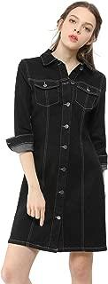 Best black denim fitted dress Reviews