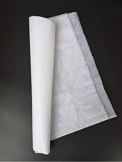 Fusible Interfacing Lightweight Fabric for Quilting Stabilizer T-Shirt,Handmade Face Masks, Nonwoven One Side Fusible, Iro...