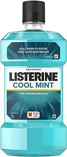 Listerine Mouthwash Cool Mint, 1000ml