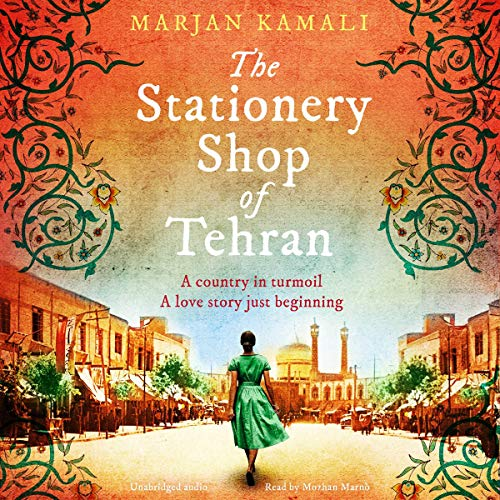 The Stationery Shop of Tehran audiobook cover art