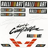 RALLI ART ラリーアート PVC カー ステッカー