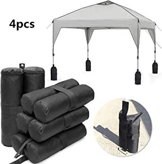 Esoes Gazebo Sand Weights Gazebo Sandbags Twin-Leg Sand Bag Weights for Anchoring Gazebos Marquee Sun Shades Trampolines