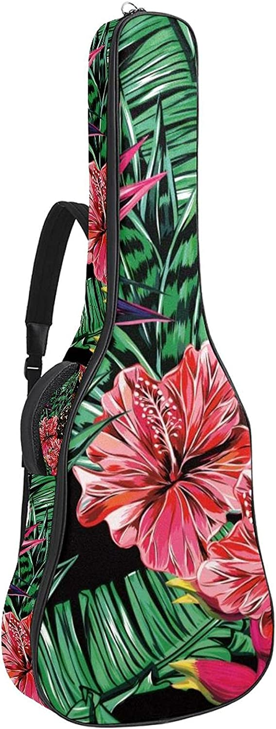 Acoustic Guitar Don't miss the campaign Bag cheap Summer Leaves Pineapple Adjustable Shoulder