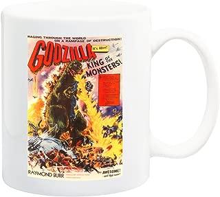 iPosters Godzilla Classic Movie Mug - 11 Fluid Oz