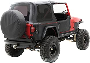 Smittybilt 9870211 Denim Gray OEM Replacement Soft Top with Door Skins and Tinted Windows
