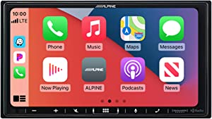 Alpine iLX-407Shallow Chassis 7 Inch Multimedia Receiver with Apple Carplay