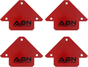 Abn Arrow Welding Magnet – Metal Working Tools and Equipment, 45, 90, 135 Degree Angle Magnet, 4 Pack of 25 Lb Magnet