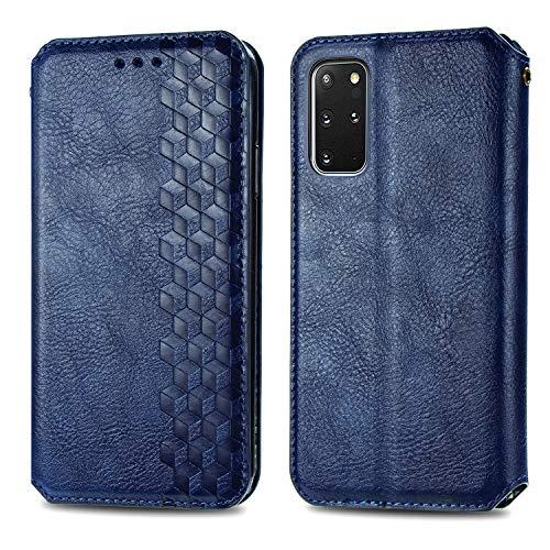 Trugox Funda Cartera para Samsung S20 Plus (S20+) de Piel con Tapa Tarjetero Soporte Plegable Antigolpes Cover Case Carcasa Cuero para Samsung Galaxy S20 Plus 5G - LOSDA12A0143 Azul