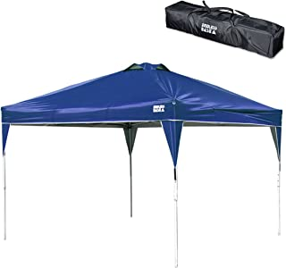 タンスのゲン ENDLESS BASE 3m ワンタッチ タープテント 耐水加工 UVカット 通気孔付き 3段階高さ調節 アウトドア キャンプ用品 (ペグ,ロープ付属,専用収納ケース付) グリーン 36200002