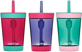 Contigo Kids 3 Pack Tumblers - Pink/Purple/Aqua