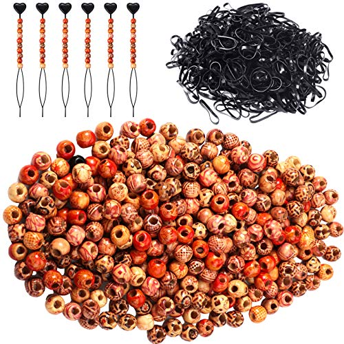 1106 Pieces Beads for Hair Braids N…