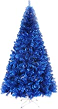 Christmas Tree Encrypted Blue Christmas Tree Artificial Christmas Tree Easy Assembly Suitable for Hotels, Homes Seasonal D...