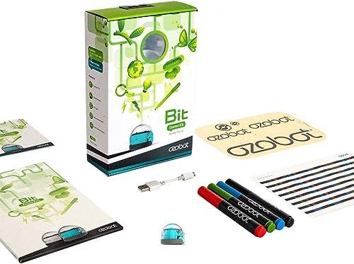 artículos novedosos Ozobot Bit, Bit, Bit, Robot de codificación, paquete de inicio, Color azul (Cool azul)  garantía de crédito
