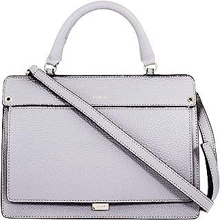 Like Ladies Small Gray Onice Leather Crossbody 978275