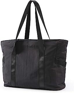 کیف دستی کیف دستی بزرگ BAGSMART کیف دستی شانه بزرگ با سگک حصیر یوگا برای ورزش ، کار ، مدرسه