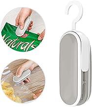 Mini Bag Sealer, Handheld Heat Sealer, 2 in 1 Heat Sealer and Cutter Portable Bag Resealer, Heat Seal for Snack Bags, Plastic Aluminum Chip Bags (Battery Not Included) (1 PCS)