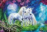 Educa- Unicornios en el Boque Puzzle, 500 Piezas, Multicolor (17648)