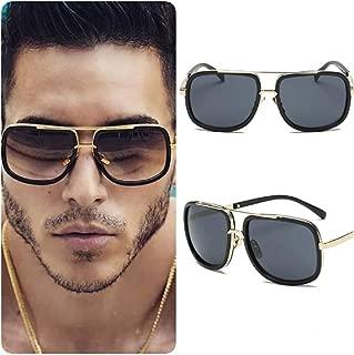 Gafas de sol para hombre, diseño cuadrado, unisex, estilo retro vintage 2019