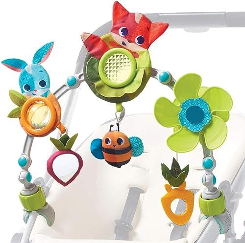 Tiny Love Arche d'activités Articulée pour bébé, Clip ajustables convenant à la plupart des poussettes, Dès la naissa...