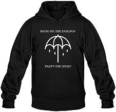 bibisc Men's Bring Me The Horizon That's The Spirit Hoodies Sweatshirt Funny