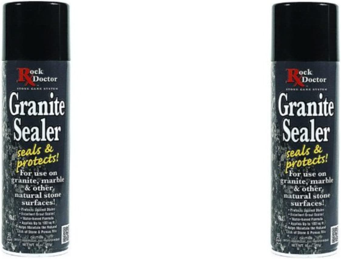 At the price Excellence of surprise Rock Doctor Granite Sealer Spray Seals Surface – Protects