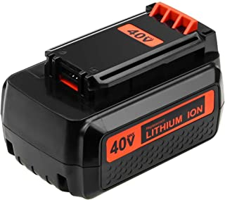 LBX2040 3000mAh Replace for Black and Decker 40V Battery 40 Volt Lithium MAX LBX36 LBXR36 LBXR2036