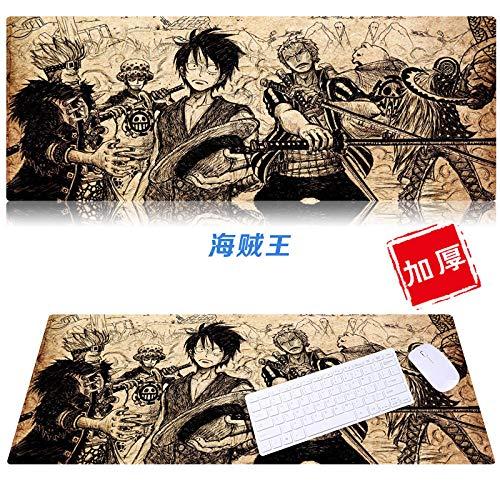 yinying Alfombrilla de ratón para Juegos,Alfombrilla de ratón de una Pieza Alfombrilla de Teclado de Anime Alfombrilla de Escritorio-D8 una Pieza_900x400 mm_3 mm