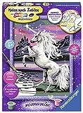 Ravensburger Malen nach Zahlen 28563 - Magisches Einhorn - Für Kinder ab 9 Jahren -