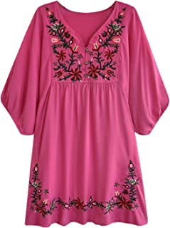 pink mexican dress
