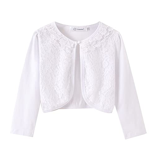 9453b2c90 Short White Lace Jacket  Amazon.com