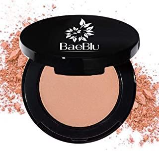 BaeBlu Organic Blush 100% Natural Pressed Mineral Powder, Made in the USA, Cinnabar