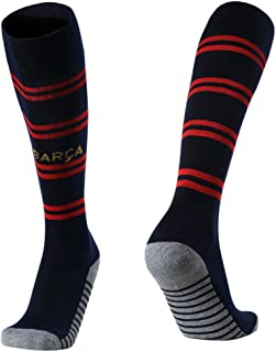 Barcelona Football socks for the 2018-2019 season are suitable for 6-14 years old