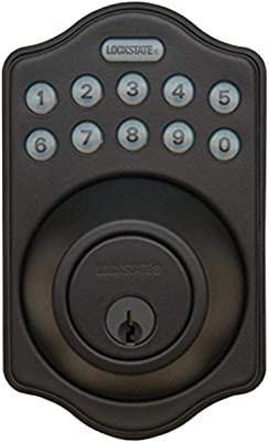LockState LS-DB500-RB Electronic Deadbolt with Remote