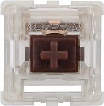 Gateron KS-9 RGB Mechanical MX Type Key Switch - Clear top (120 Pcs, Brown)
