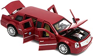 Berry President 1:32 Limousine Car Electric Toy Sound & Light - Birthday (Red)
