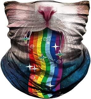 Best rainbow cat mask Reviews