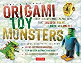 Origami Toy Monsters Kit: Easy-To-Assemble Paper Toys That Shudder, Shake, Lurch and Amaze!: Kit with Origami Book, 11 Cardstock Sheets & Tools