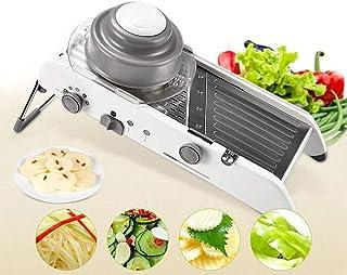 ZJZ Trancheuse à Légumes, Multi-usage, Sûr et Durable, Sans BPA, Convient pour Pomme de terre, Oignons et autres Légumes e...