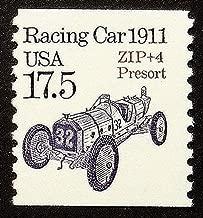 Racing Car 1911 USA -Framed Postage Stamp Art 16377