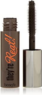 Benefit Cosmetics They're Real Mascara Black Deluxe Travel Size Mini .10 Ounce Unboxed