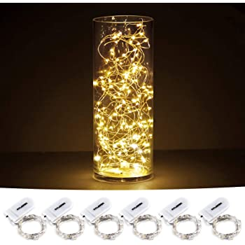 Battery Operated Lights for Bedroom Christmas SN5MBFSXD Mini Battery Powered Copper Wire Starry Fairy Lights Wedding Centerpiece Parties 5m//16ft Warm White Sanniu Led String Lights Decoration