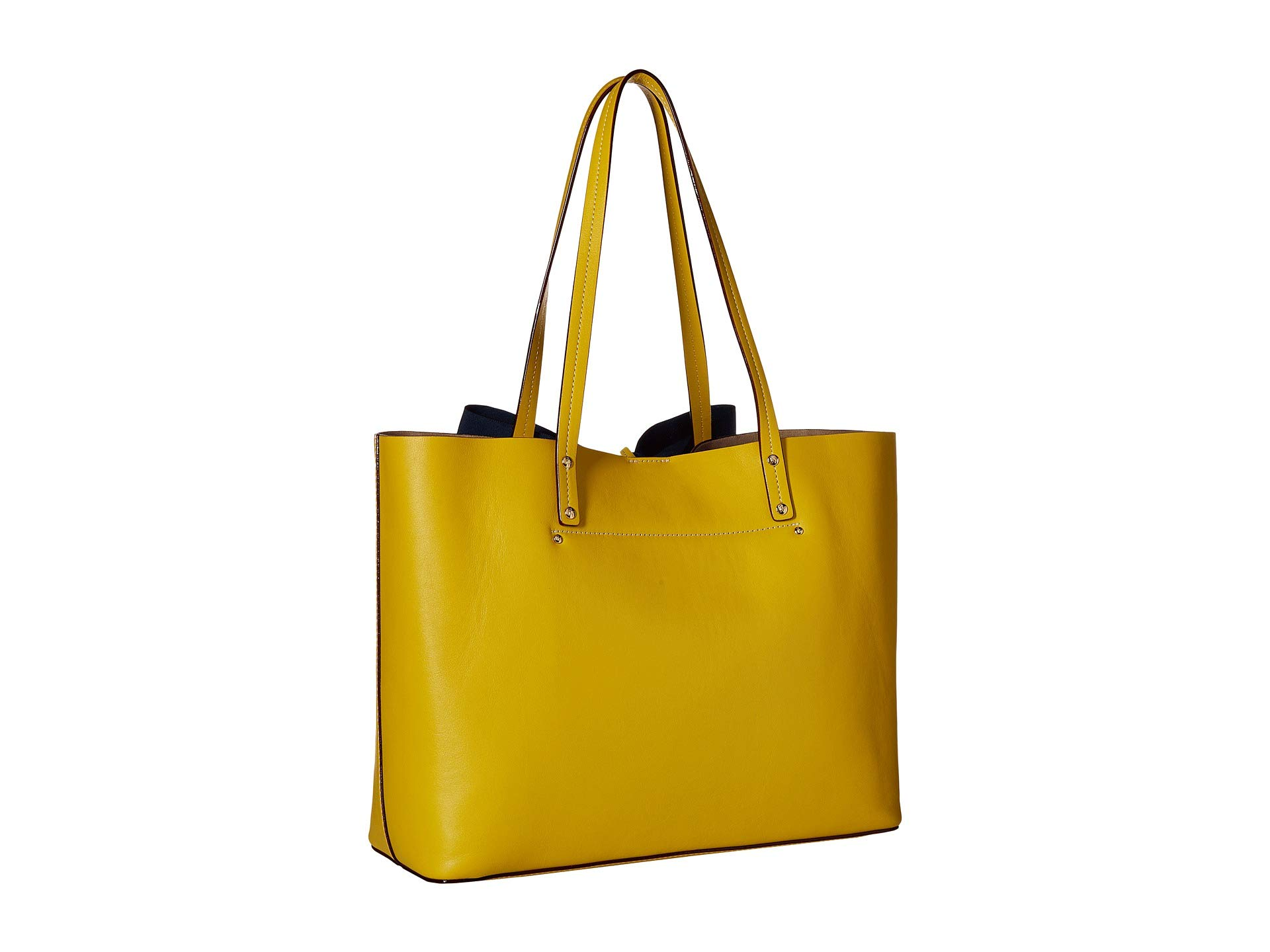 Bow navy Valentine Yellow Frances Tote Trixie RBEqggYH