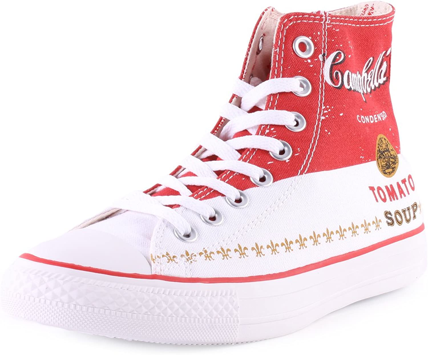 Converse Chuck Taylor All Star High Top Andy Warhol Men's Sneakers 147051C